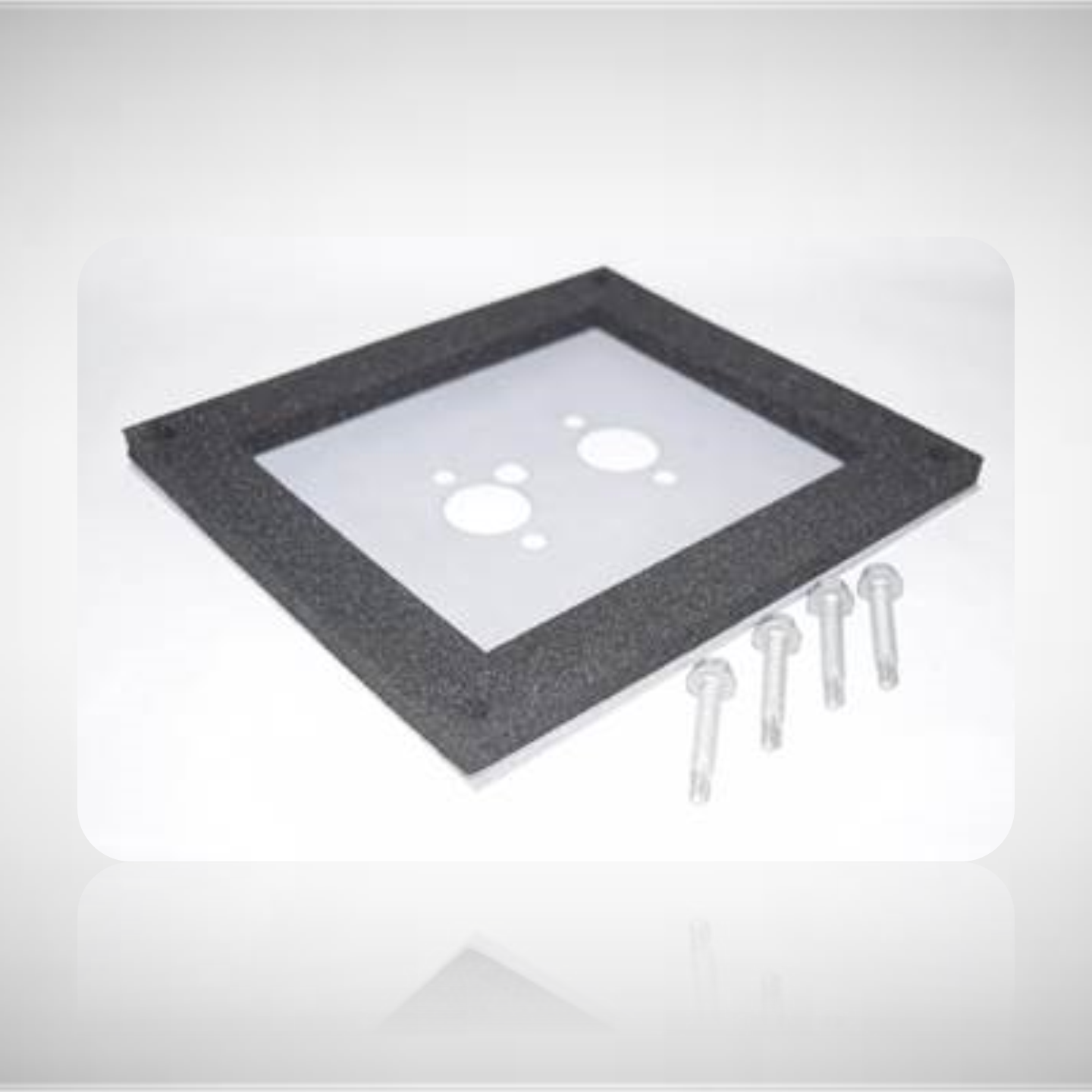 Mounting Plate with Seal for D2 & D4 Heaters