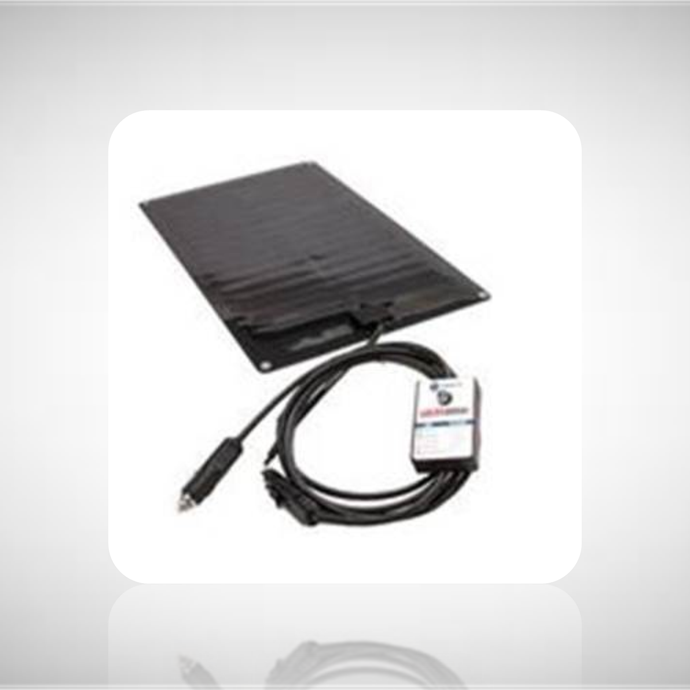 Purkeys Solar Dash Supplemental Charging System