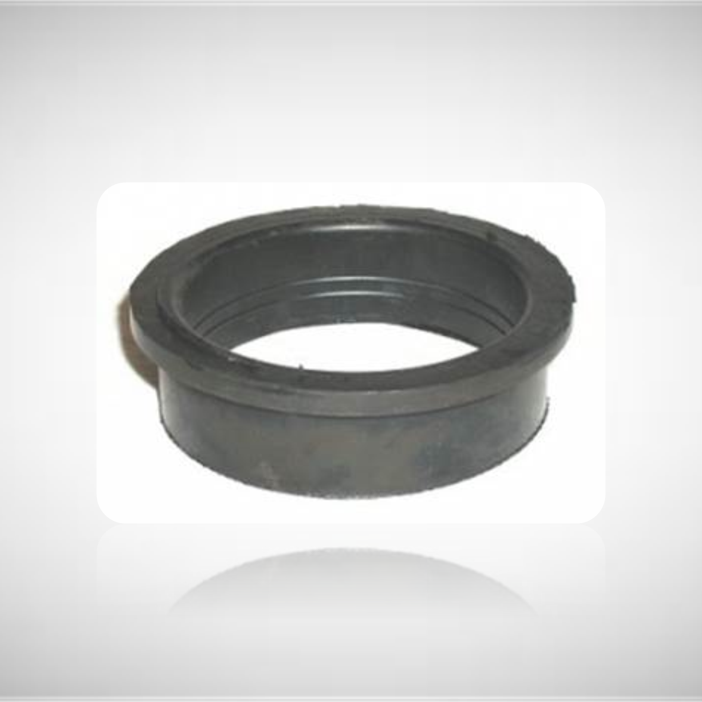 "Red Dot Rubber Reducing Insert 4"" OD to 3.5"""