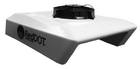 Red Dot 12 Volt Electric Rooftop AC System