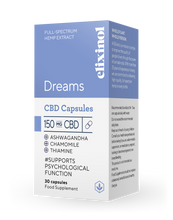 Load image into Gallery viewer, Elixinol Dreams CBD Capsules