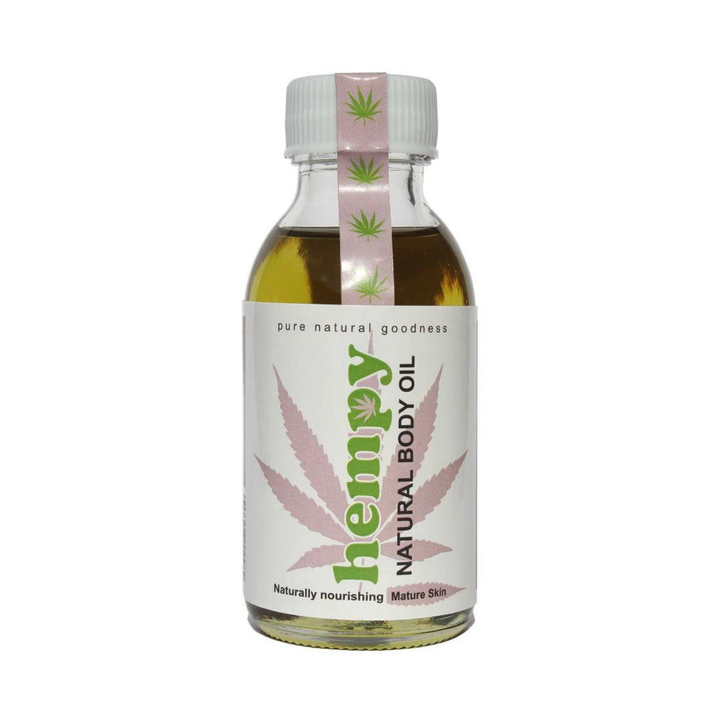 Hempy Natural Body Oil for Mature Skin 100ml