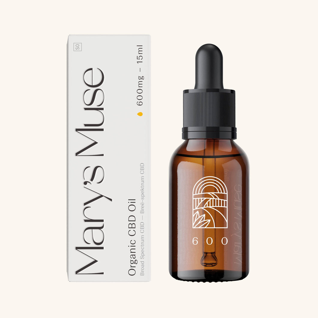 Mary's Muse 600mg Organic CBD Oil