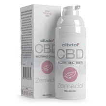 Load image into Gallery viewer, Cibdol Zemadol CBD Eczema Cream