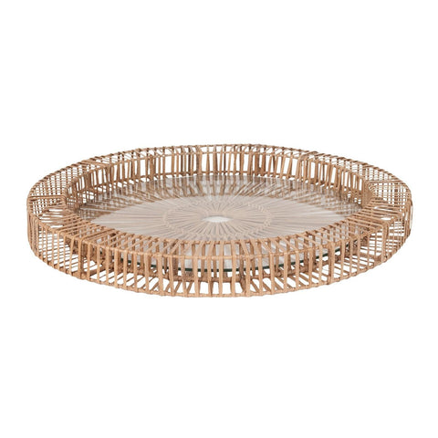 466030 Natural S R Spoke Tray