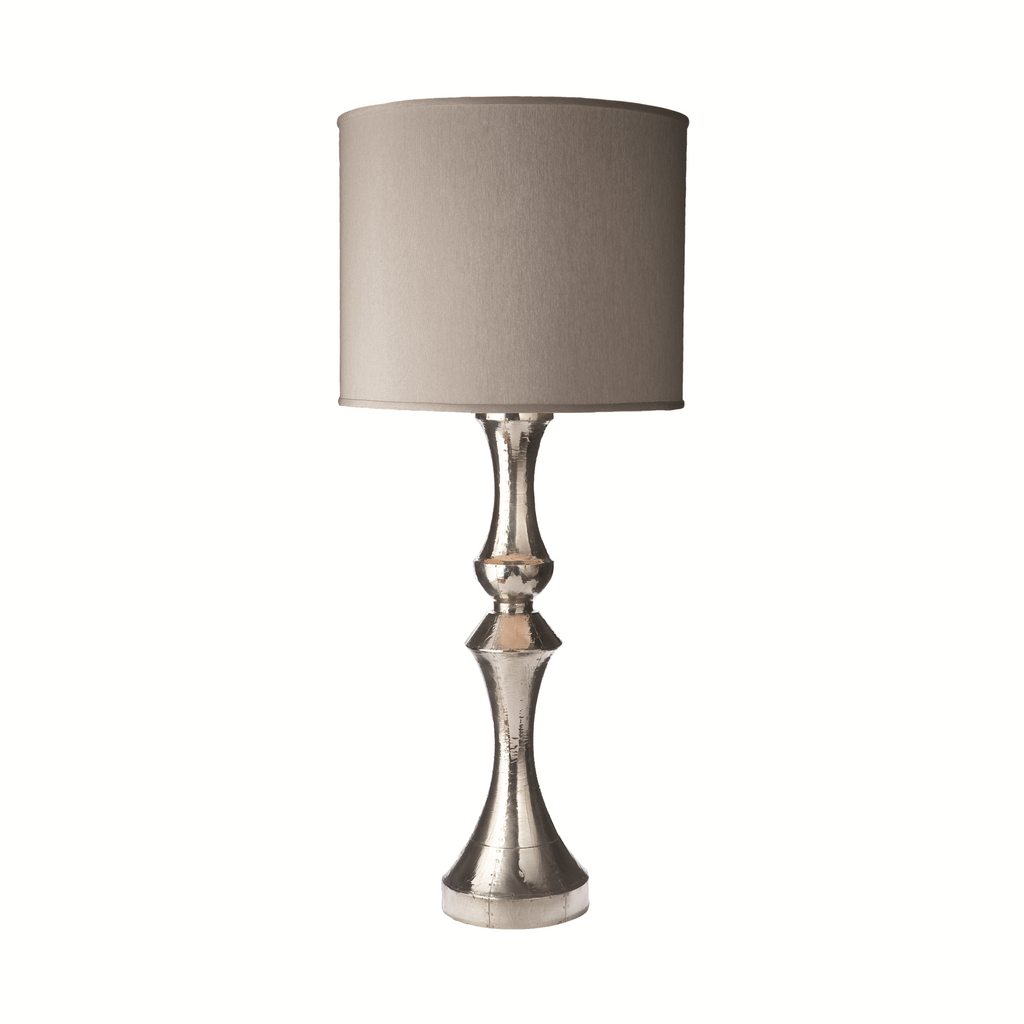 665005 German Silver Lamp
