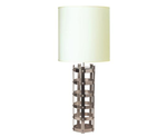675003 Metal Strap Lamp Silver - Various shades are available