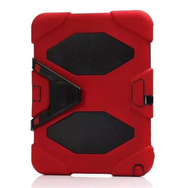 Shockproof Heavy Duty Silicone Stand Protective Cover for Samsung Galaxy Tab E 9.6