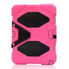 "Load image into Gallery viewer, Shockproof Heavy Duty Silicone Stand Protective Cover for Samsung Galaxy Tab E 9.6"" T560 T561"