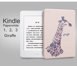 Thin Leather Case for Amazon Kindle Paperwhite Cover 1 2 3 2012 2013 2015 Smart 6 inch E-book