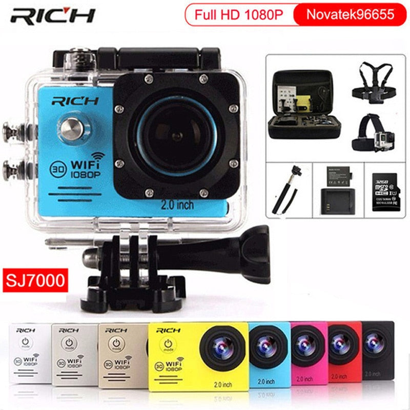 GoPro HERO 4 30m Diving Outdoor Sport Camera Full HD 1080P 30FPS Style Novatek96655 Wifi Waterproof