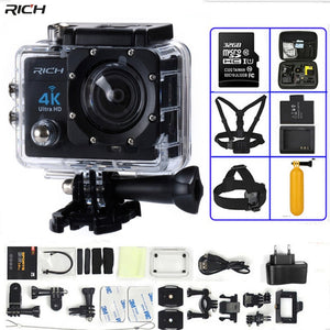 GoPro HERO 4 Diving Camera 4K Ultra HD WIFI Style 1080P/30fps 2.0 LCD 170 Lens 30M DV Helmet Cam Sports