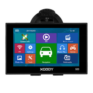 "5"" GPS Navigation 256MB 8GB FM Sat Navitel Optional Free Lifetime Updated Map"