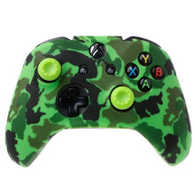 Load image into Gallery viewer, Camouflage Silicone Gamepad Cover + 2 Joystick Caps For XBox One X S Controller