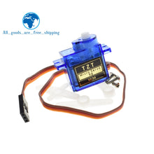 Load image into Gallery viewer, TZT Smart Electronics 1Pcs Rc Mini Micro 9g 1.6KG Servo SG90 for RC 250 450 Helicopter Airplane Car Boat