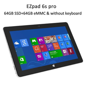 "Jumper EZpad 6/6S Pro 2-in-1 Tablet Windows 10 11.6"" Capacitive Screen 1080P IPS Display Apollo N3450"