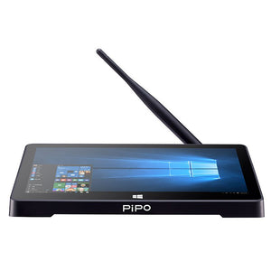 "PiPo X9S 8.9"" Mini PC Dual OS TV Box + IPS Tablet Android Windows 10 intel Z8350 Quad Core Bluetooth"