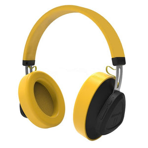 Wireless Bluetooth Headphone with Microphone Monitor Studio Headset Phones Support Voice Control