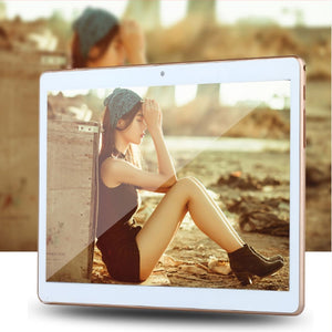 10 Inch 3G Dual SIM Card Phonecall Laptop Android 7.0 Quad Core 4G+32G WiFi GPS Bluetooth