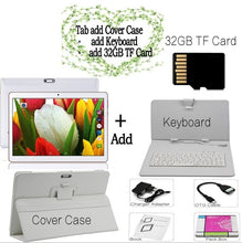 Load image into Gallery viewer, 10 Inch 3G Dual SIM Card Phonecall Laptop Android 7.0 Quad Core 4G+32G WiFi GPS Bluetooth