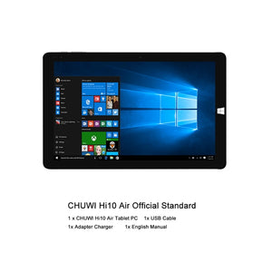 "10.1"" 2-in-1 Quad Core Windows 10 Tablet"
