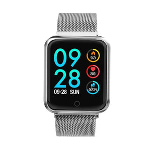 Sports IP68 Smart Watch Fitness Activity Tracker Heart Rate Monitor Blood Pressure for IOS Android Apple iPhone 6 7