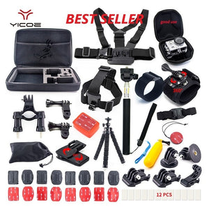 GoPro HERO 7 6 5 4 Accessories Kit Session SJCAM Xiaomi Yi 4k  for Action Sport Camera