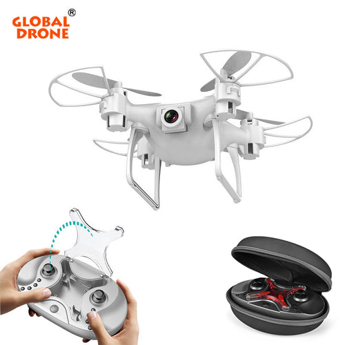 GW009C-1S Mini Drone with Camera HD Upgrade Quadcopter Altitude Hold RC Helicopter Drone