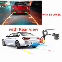 "Load image into Gallery viewer, 7"" GPS Navigation  FM  Bluetooth AVIN Reversing Camera Free Map"