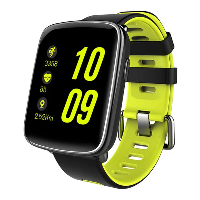 GV68 Bluetooth Smart Watch IP68 Heart Rate Monitor Pedometer Remote for iPhone Android