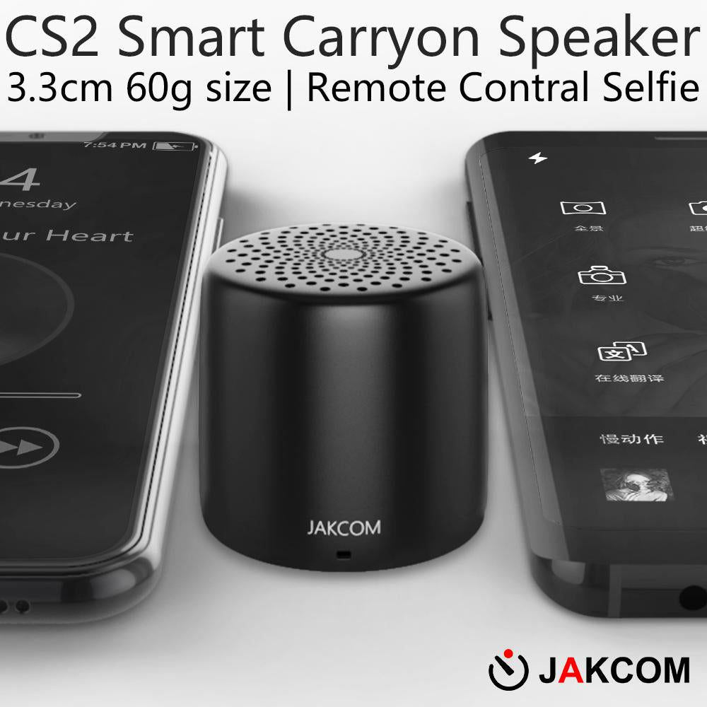 JAKCOM CS2 Smart Carryon Mini Portable Subwoof Speaker with Mic TF Card FM Radio Supports Android System