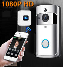 Load image into Gallery viewer, Smart WiFi Wireless Home Video IP Camera 1080P HD Waterproof Night Vision Intercom/Doorbell System