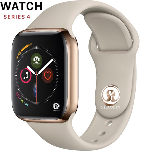 Smart Watch Series 4 Push Message Bluetooth Connectivity For Android IOS Apple iPhone 6 7 8 X