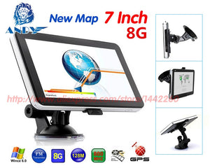 "7"" HD GPS Navigation FM 8GB 128MB Newest Map"