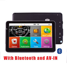 "Load image into Gallery viewer, 7"" GPS HD Navigation Bluetooth 800Mhz 8GB/256MB"