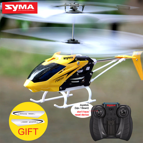 Syma Official W25 RC Helicopter 2 Channel Mini Drone With Gyro Crash Resistant