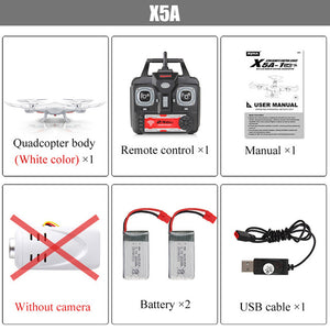 SYMA X5SW Drone with WiFi HD Camera Real-Time Transmit FPV Quadrocopter 4CH