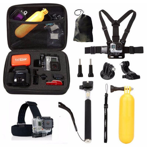 10-in-1 GoPro Accessories for GoPro HERO 7 6 5 4 Session 3+ 3 Xiaomi Yi Sports Camera