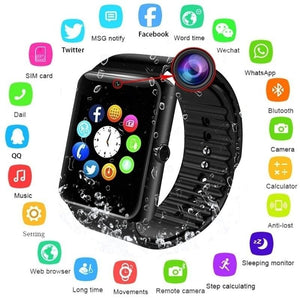 Bluetooth Smart Watch with 2.0M Camera Support SIM Card for iPhone Android Wristwatch WT8281