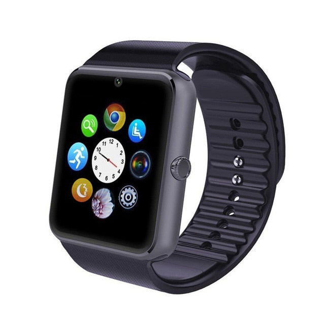 Bluetooth Smart Watch Men GT08 with Touch Screen Big Battery Support TF Sim Card Camera For IOS iPhone Android