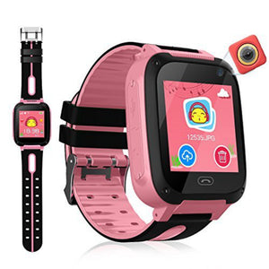 Children GPS Tracker Camera Smart Watch Mirco SIM Calls Anti-Lost LBS SOS Location Alarm for iPhone iOS Android