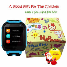 Load image into Gallery viewer, Children GPS Tracker Camera Smart Watch Mirco SIM Calls Anti-Lost LBS SOS Location Alarm for iPhone iOS Android
