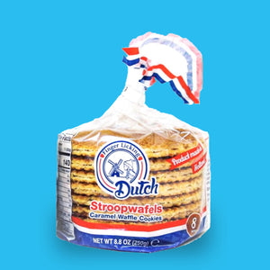Finger Licking Dutch - 8-pack caramel stroopwafels