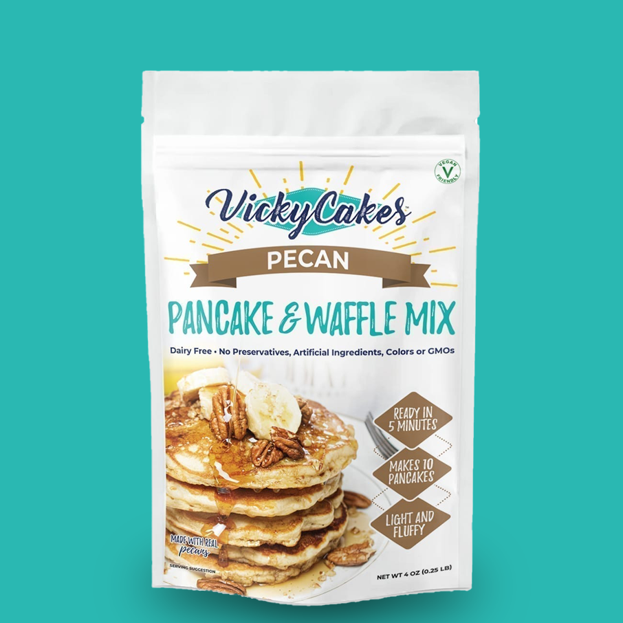 Vicky Cakes - Pecan Pancake and Waffle Mix
