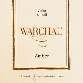 Violin Strings Collection. Warchal Amber.
