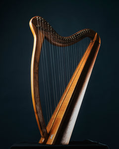 An old harp.
