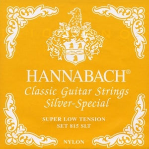 Hannabach 815 Silver Special Guitar String Set - Strings, Bows & More