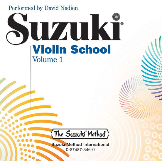 Suzuki Violin School, Performance/Accompaniment CD, Volume 1