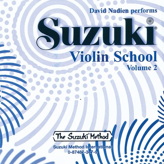 Suzuki Violin School, Volume 2 - CD