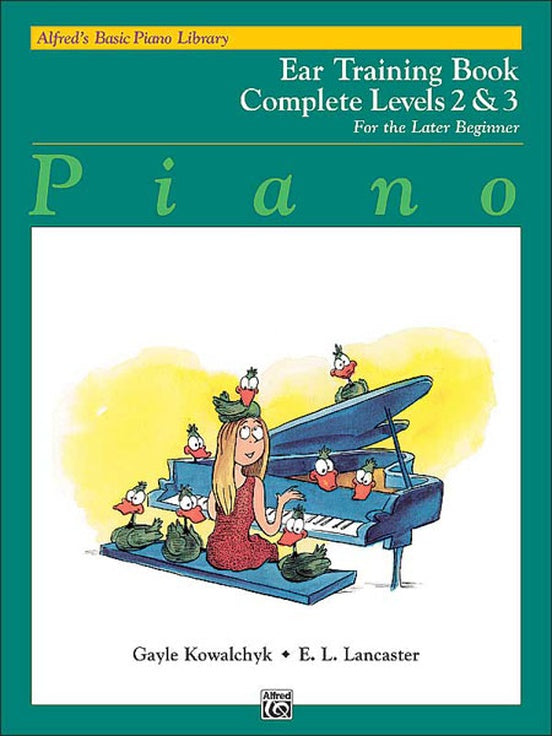 Alfred's Basic Piano Library: Ear Training Book Complete 2 & 3